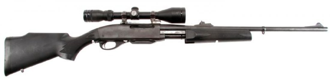 REMINGTON 7600 PUMP ACTION RIFLE IN .270 WIN