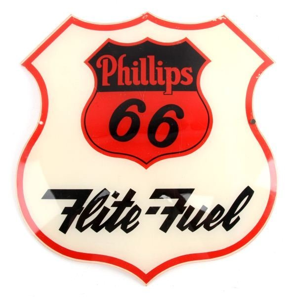 PHILLIPS 66 FLITE FUEL PLEXIGLAS GLOBE COVER