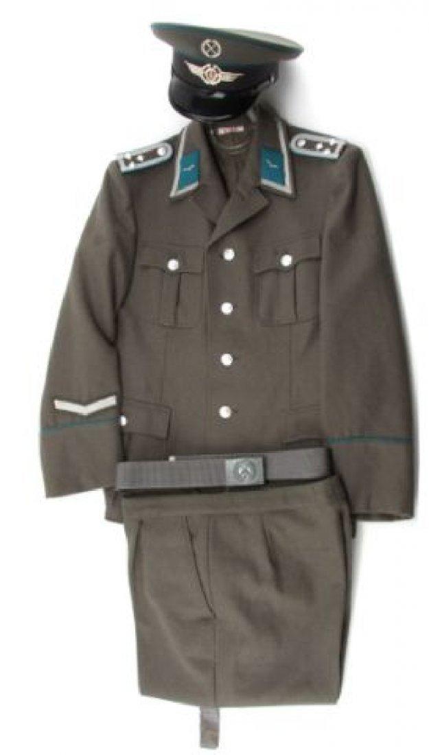 EAST GERMAN AIR FORCE NCO UNIFORM