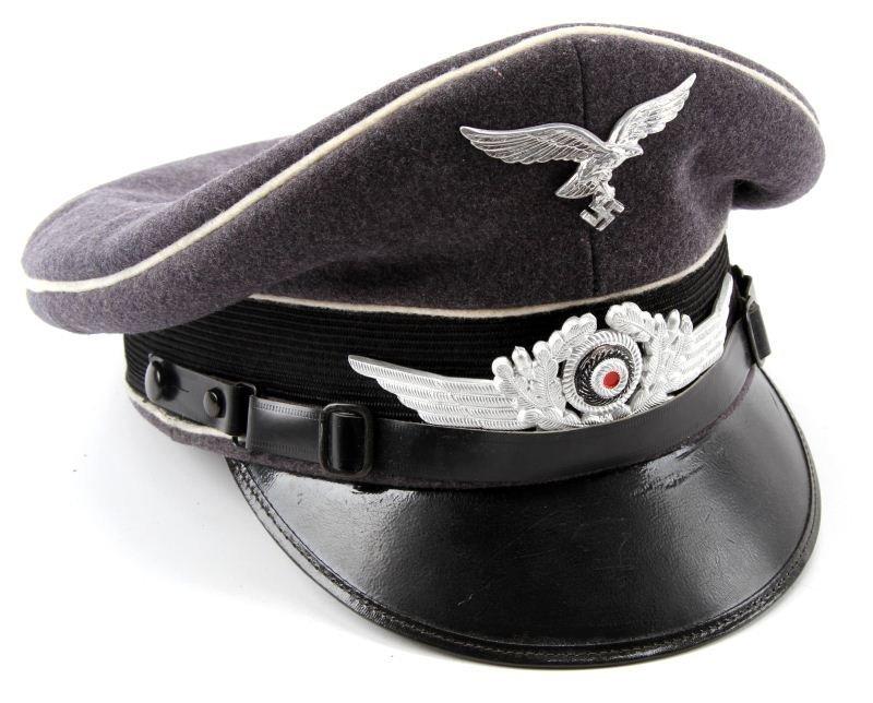 THIRD REICH LUFTWAFFE OFFICERS VISOR CAP