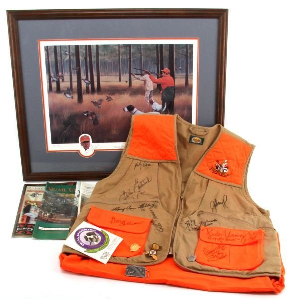 CELEBRITY QUAIL HUNT AUTOGRAPH COLLECTION