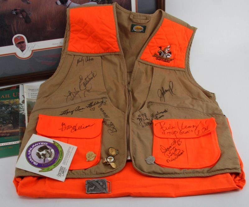 CELEBRITY QUAIL HUNT AUTOGRAPH COLLECTION - 2
