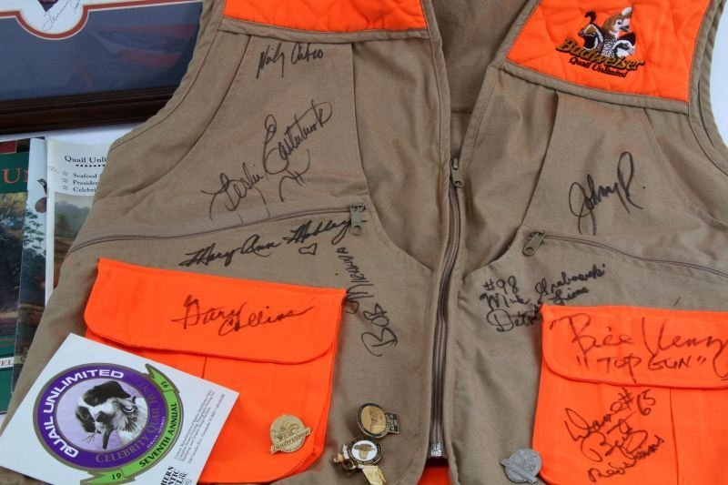 CELEBRITY QUAIL HUNT AUTOGRAPH COLLECTION - 4