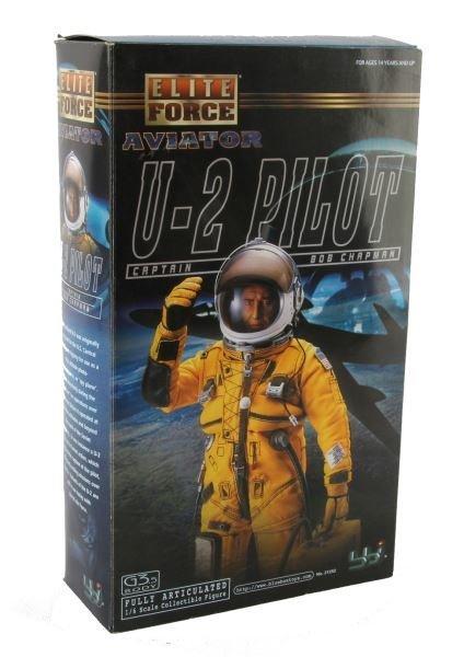 ELITE FORCE AVIATOR U2 PILOT CAPT BOB CHAPMAN MIB