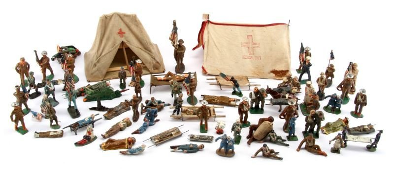 COLLECTION OF LEAD TOY SOLDIERS CIVIL WAR TO WWII