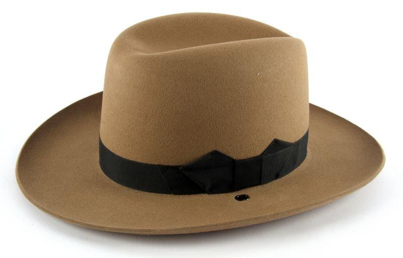 FLORIDA HIGHWAY PATROL 1950'S TROOPER STETSON HAT