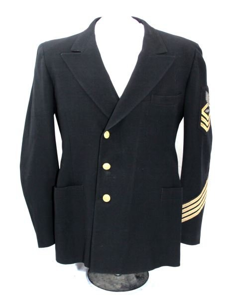 WWII US NAVY CHIEF PETTY OFFICER SUBMARINE TUNIC