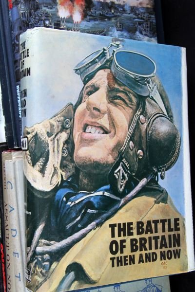 COLLECTION OF 9 UNCOMMON MILITARY RELATED BOOKS