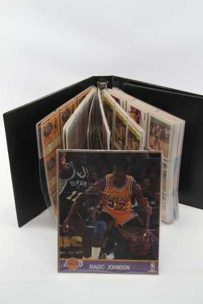 EARVIN (MAGIC) JOHNSON BASKETBALL CARD 350+