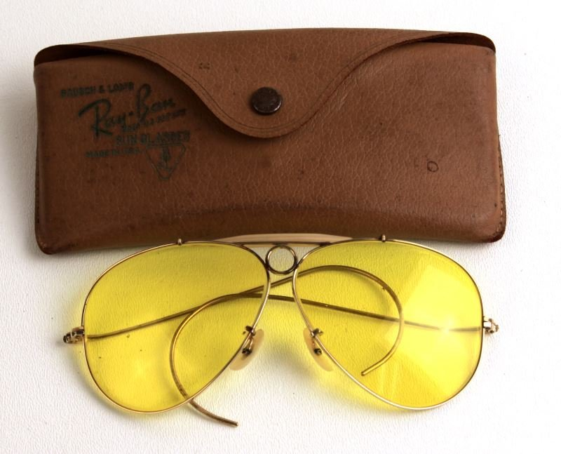 VINTAGE BAUSCH & LOMB RAY BAN SHOOTING GLASSES