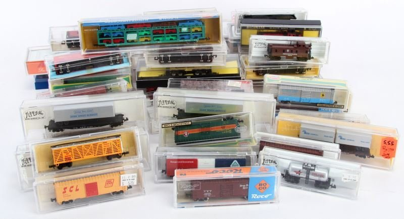 N GAUGE TRAIN FREIGHT CAR NEW IN BOX OVER 50