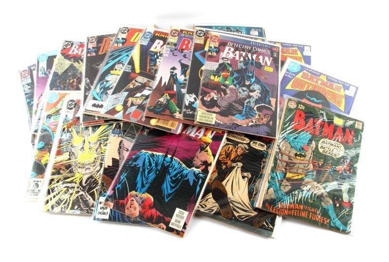 HUGE COPPER AGE MARVEL DC BATMAN COMICS OVER 75