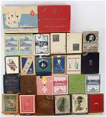 ANTIQUE & VINTAGE PLAYING CARD COLLECTION 24 SETS