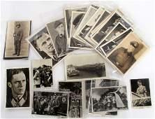 WWII THIRD REICH GERMAN POSTCARD  CIGARETTE CARDS