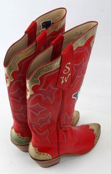 ROCKY CARROLL CUSTOM LADIES 7 TEXAS RANGER BOOTS - 3