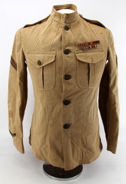 WWI USMC MARINE NAVY CORPMAN 2ND DIVISION TUNIC