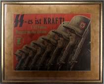 WWII GERMAN PROPAGANDA POSTER