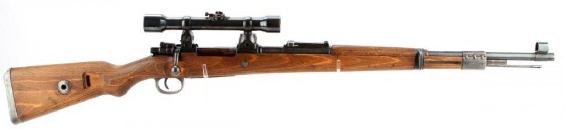 WWII GERMAN K98 HIGH TURRET SNIPER RIFLE BYF 44