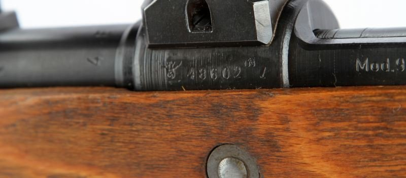WWII GERMAN K98 HIGH TURRET SNIPER RIFLE BYF 44 - 3