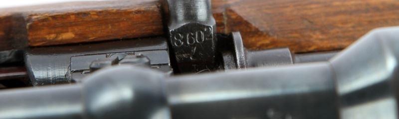 WWII GERMAN K98 HIGH TURRET SNIPER RIFLE BYF 44 - 7