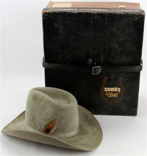 WORTH-WALDEN CUSTOM MADE BEAVER FELT COWBOY HAT 7d1b5b5beed