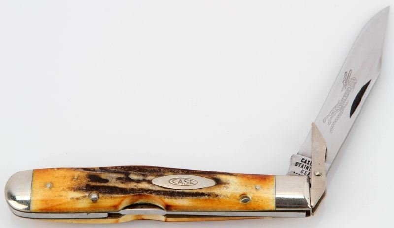 CASE XX 5111-1/2L SWING GUARD STAG CHEETAH KNIFE