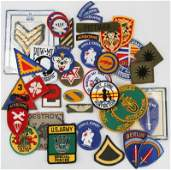 US MILITARY PATCHES POST WWII THROUGH VIETNAM