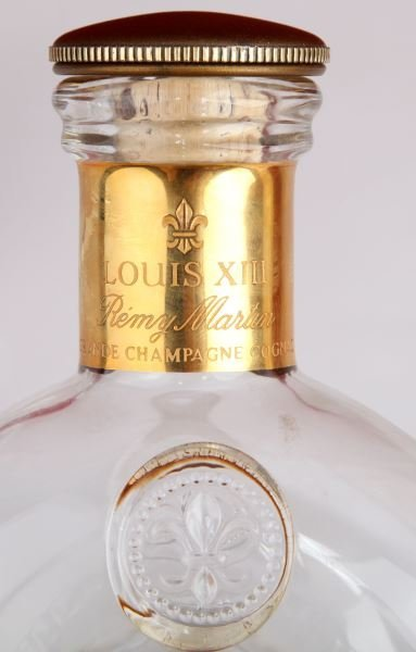 REMY MARTIN LOUIS XIII COGNAC CRYSTAL BOTTLE - 4