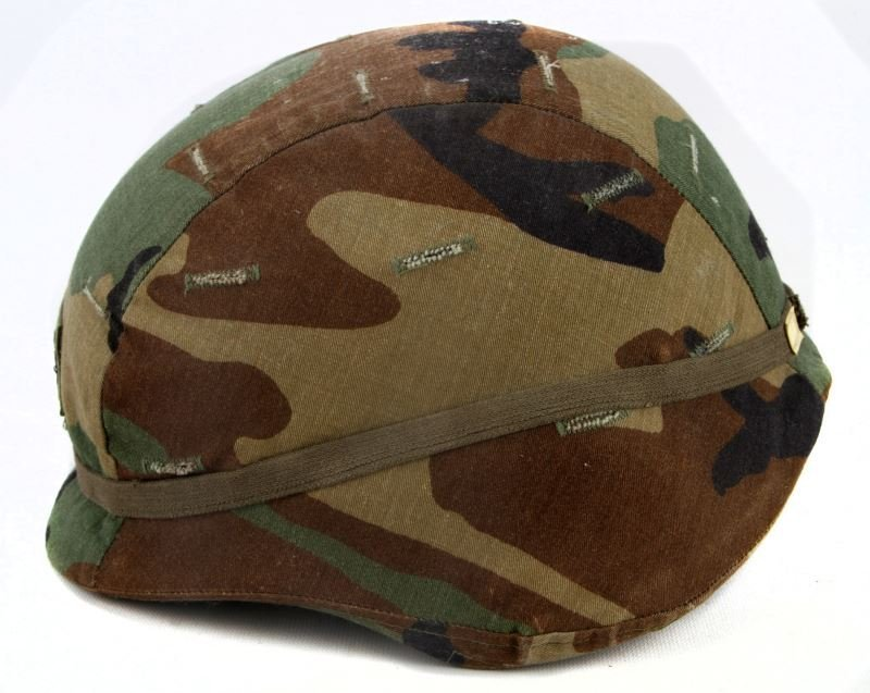 US ARMY UNICOR PASGT KEVLAR HELMET W COVER - 2
