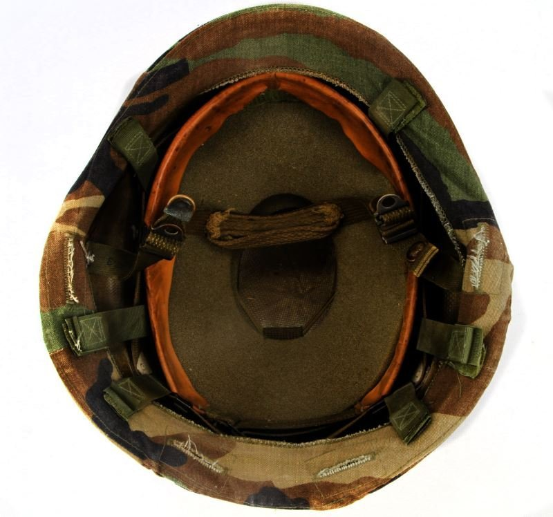 US ARMY UNICOR PASGT KEVLAR HELMET W COVER - 3