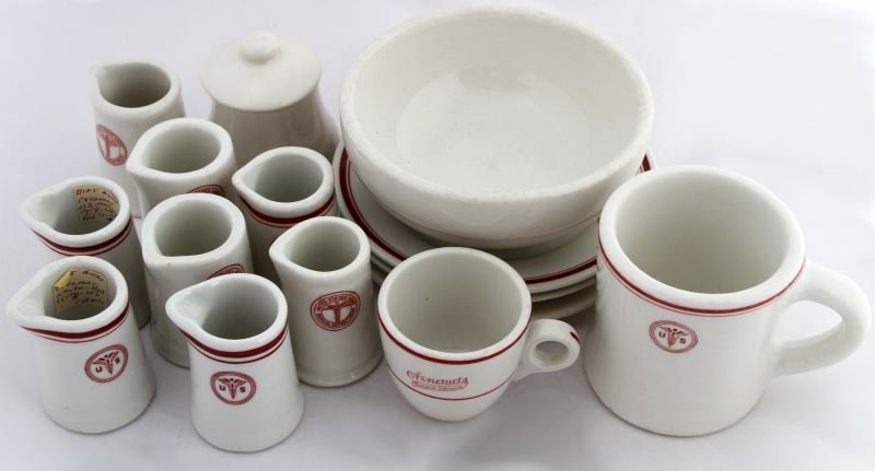 15 PIECES OF US ARMY MEDICAL DEPARTMENT CHINA