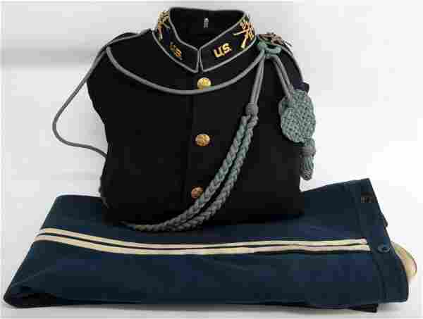 SPAN AM WAR-ERA TUNIC AND TROUSERS 24TH INFANTRY