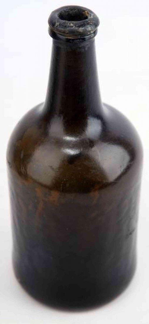 BLACK GLASS ENGLISH MALLET 1760'S ESCAMBIA FLORIDA