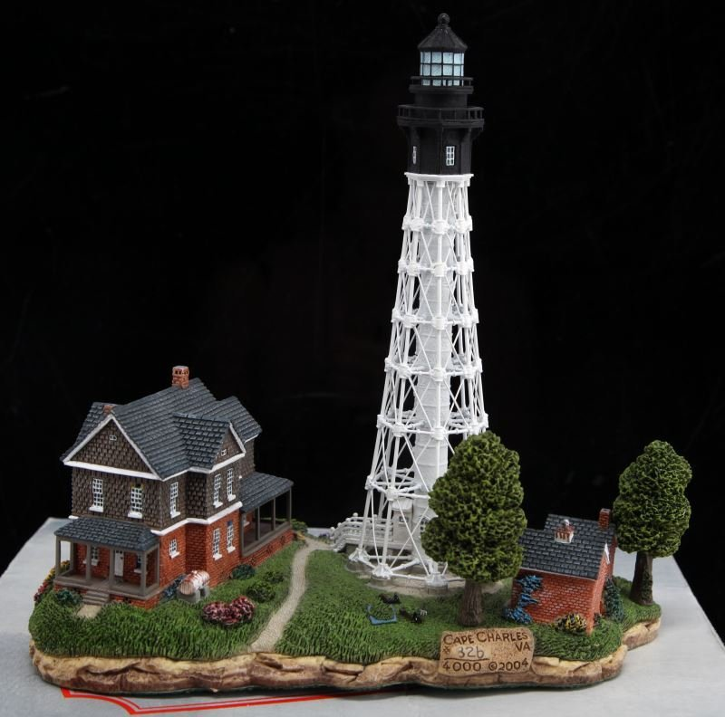 HARBOUR LIGHTS #324 CAPE CHARLES LIMITED EDITION