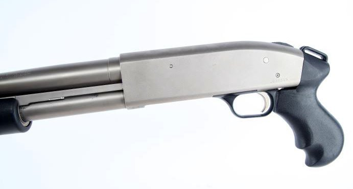 MOSSBERG 500 PERSUADER PISTOL GRIP SHOTGUN - 4
