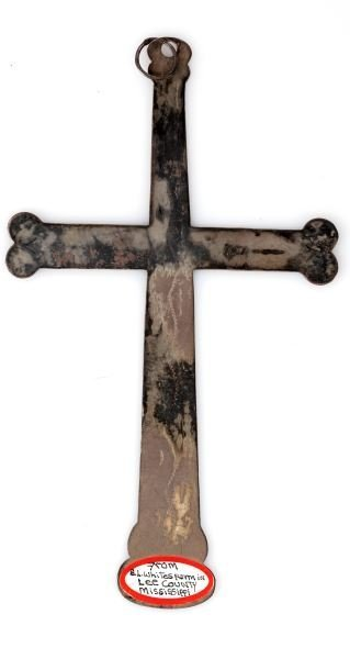 18TH CENTURY SILVER TRADE CROSS LEE COUNTY MS.