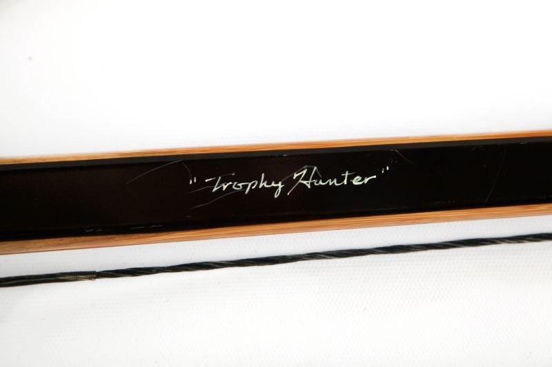 JOHN SCHULZ TROPHY HUNTER AMERICAN LONGBOW - 3