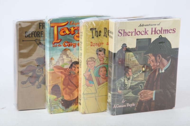 MIXED LOT OF VINTAGE FICTION BOOKS