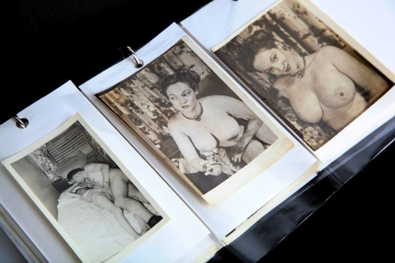 VINTAGE NUDE & PORN PHOTOGRAPH COLLECTION