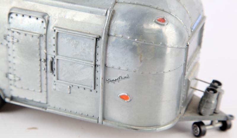 1962 FLYING CLOUD AIRSTREAM TRAILER DIE CAST 1:18 - 2