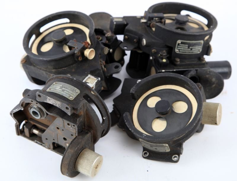 2 A-10 BUBBLE SEXTANT LOT  WITH PARTS