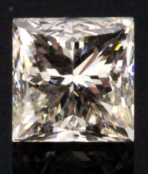 LOOSE PRINCESS CUT DIAMOND .56CT