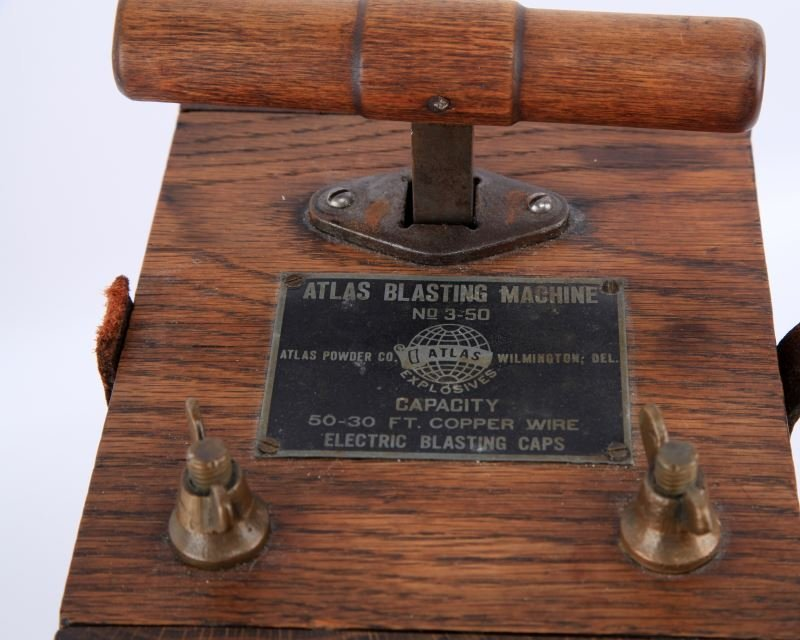 ATLAS BLASTING MACHINE #N 3-50 13 INCH COMPLETE - 2