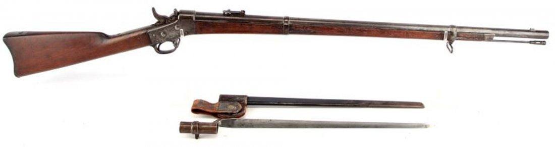 SPRINGFIELD MODEL 1870 ROLLING BLOCK US NAVY RIFLE