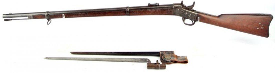 SPRINGFIELD MODEL 1870 ROLLING BLOCK US NAVY RIFLE - 5