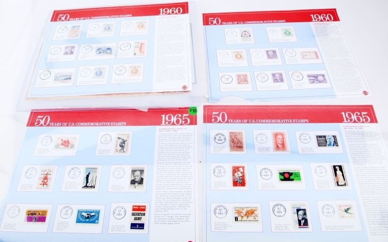 LARGE STAMP COLLECTION US & WORLD MINT SHEETS ETC