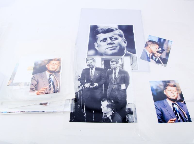 41 HIGH QUALITY KENNEDY PHOTOGRAPH LOT