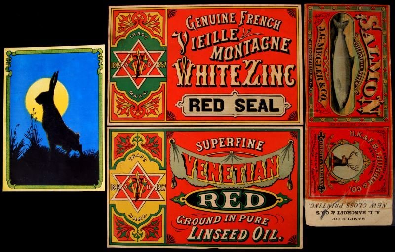 NEW OLD STOCK ORIGINAL CAN GOODS LABELS