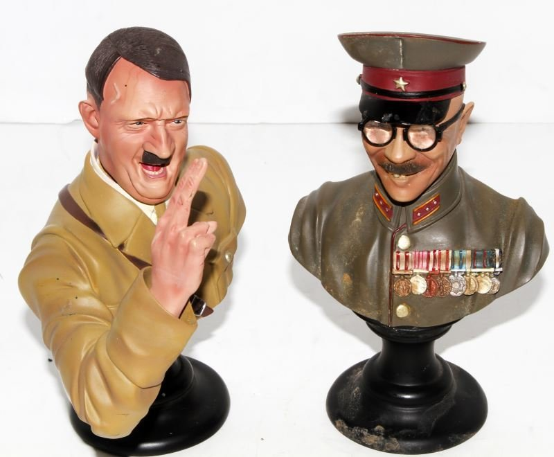 HITLER & TOJO BUSTS BY COLLECTORS SHOWCASE