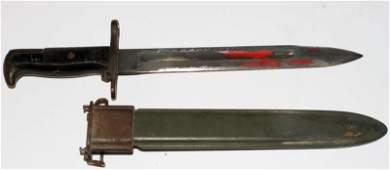 WWII PAL M1 GARAND BAYONET AND SCABBARD